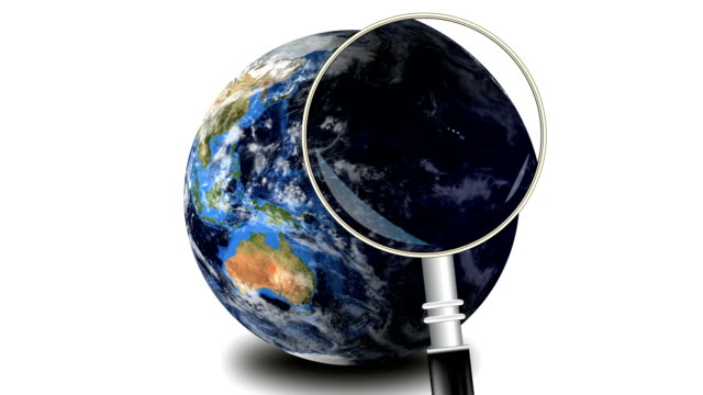 Erde und Globale Suche machen