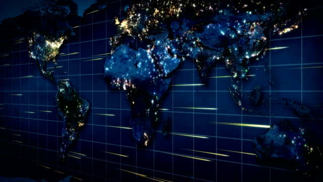 earth map at night - stereotypically upper class stock videos & royalty-free footage