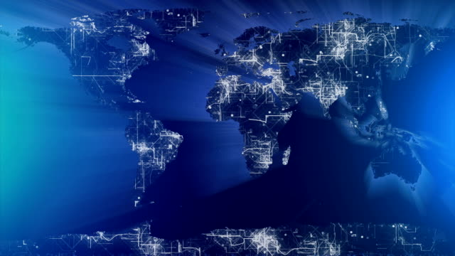 Erde Karte Shine