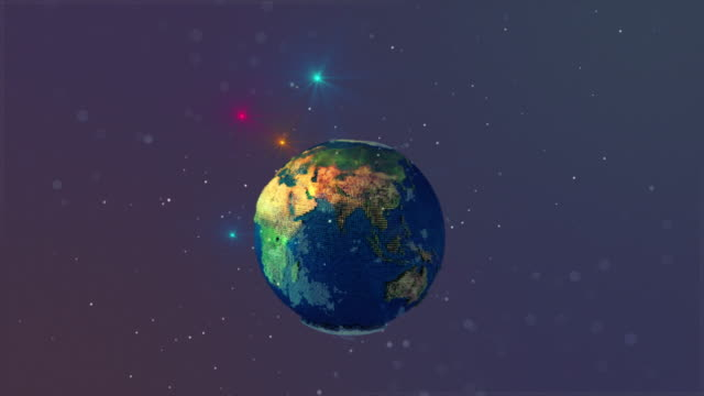 Earth map world pixel minecraft stock footage video getty images gumiabroncs Image collections