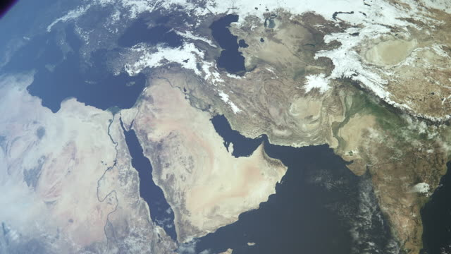 earth middle east a - persian gulf countries stock videos & royalty-free footage