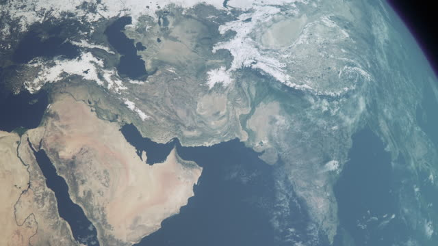 earth middle east b - persian gulf countries stock videos & royalty-free footage