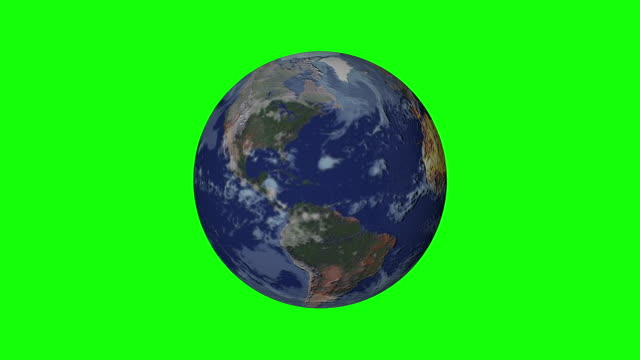 Earth Planet World Rotating