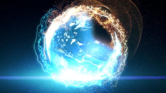 vidéos et rushes de terre révéler - production d'énergie