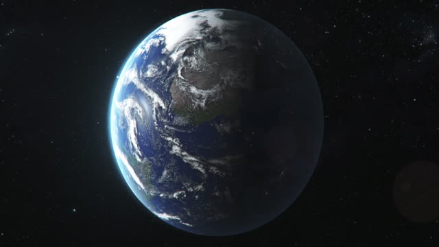earth seen from space - image stock videos & royalty-free footage