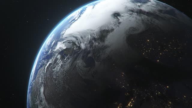宇宙から見た地球 - 宇宙探検点の映像素材/bロール
