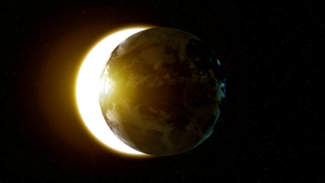 Earth Solar Eclipse