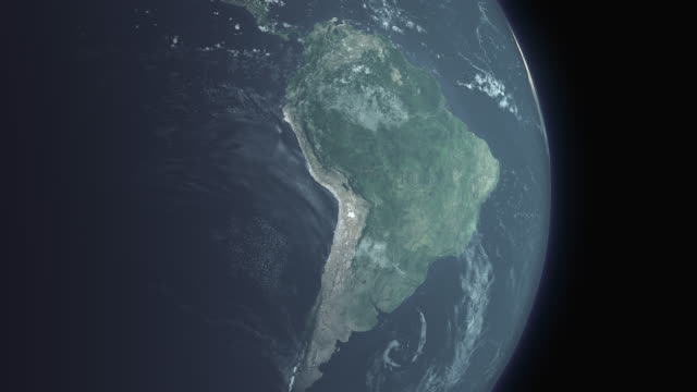 earth south america - south america stock videos & royalty-free footage