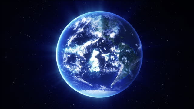Earth spinning