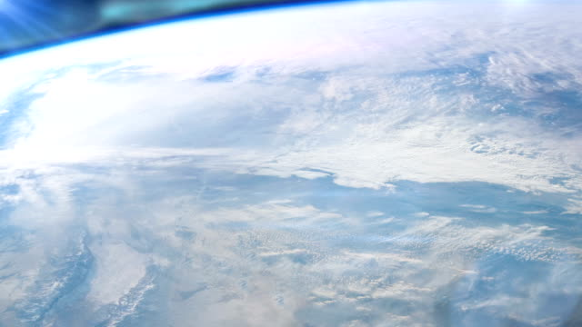 earth surface seen from space. nasa public domain imagery - surface level stock videos & royalty-free footage