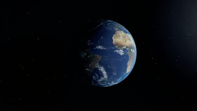 vidéos et rushes de planète terre - espace texte