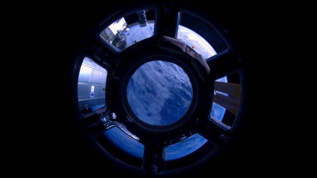 earth view from international space station - アメリカ航空宇宙局点の映像素材/bロール