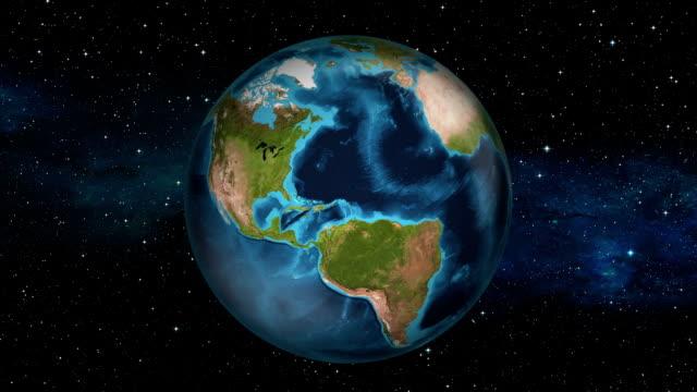 Earth Zoom In - Belize - Belmopan