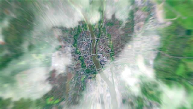 Erde Zoom In Bremen, Deutschland