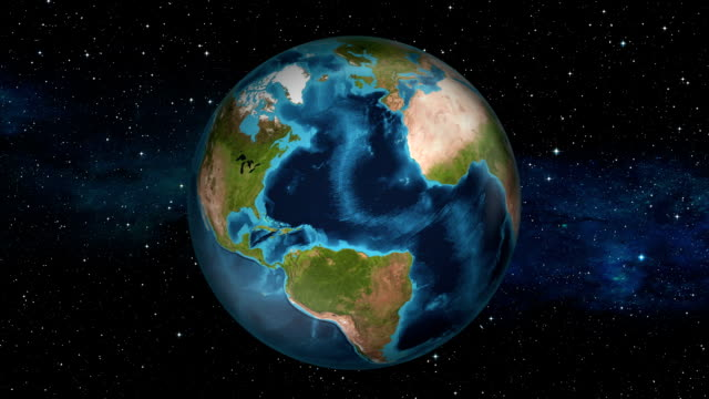 Earth Zoom In - Haiti - Port-au-Prince