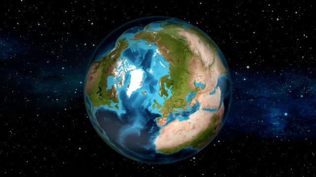 Earth Zoom In - Iceland - Reykjavík