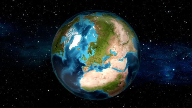 Earth Zoom In - Ireland - Dublin
