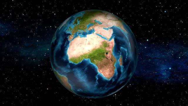 Earth Zoom In - Liberia - Monrovia