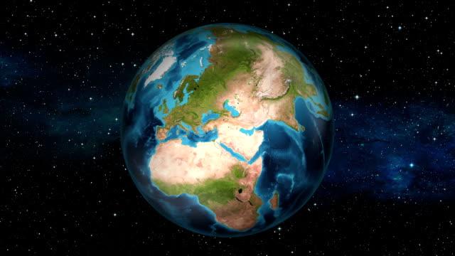 Earth Zoom In - Libya - Tripoli