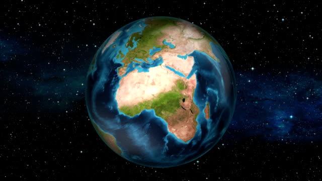 Erde Zoom In Mali-Bamako