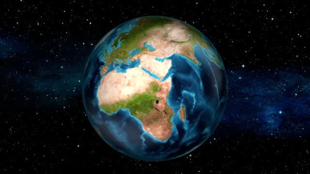Earth Zoom In - Nigeria - Abuja