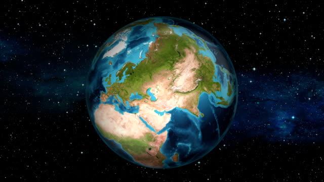 Earth Zoom In - Turkey - Ankara