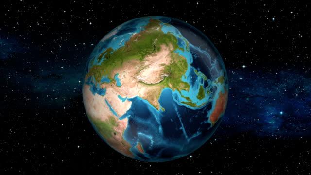 Earth Zoom In - United Arab Emirates - Abu Dhabi