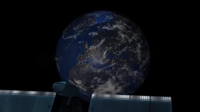 ズーム夜の地球