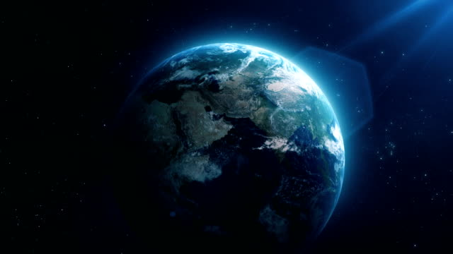 earth zoom out - globe stock videos & royalty-free footage