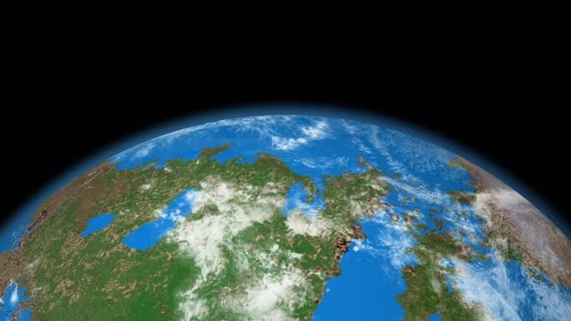 vídeos y material grabado en eventos de stock de planeta extrasolar como la tierra - acercarse