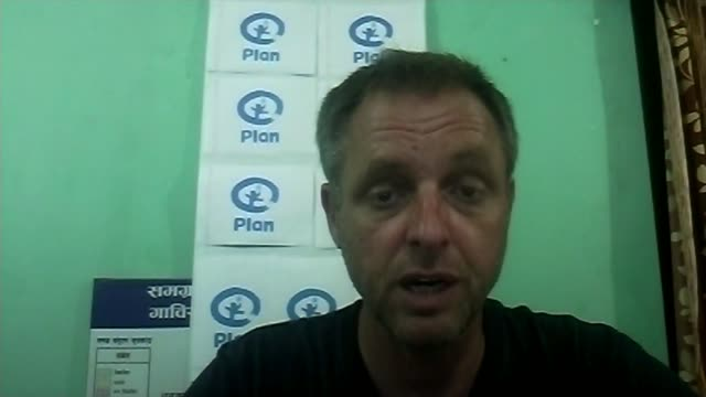 Earthquake measuring 79 hits Pokhara area 1300 feared dead ENGLAND London GIR INT Mattias Bryneson speaking from Biratnagar Nepal interview via...