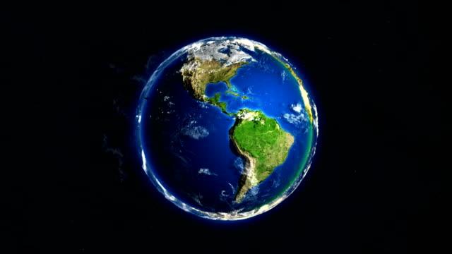 jordens rotation slinga 4k - vända bildbanksvideor och videomaterial från bakom kulisserna