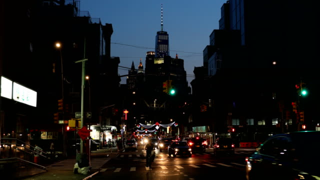 east broadway chinatown - one world trade center stock videos & royalty-free footage