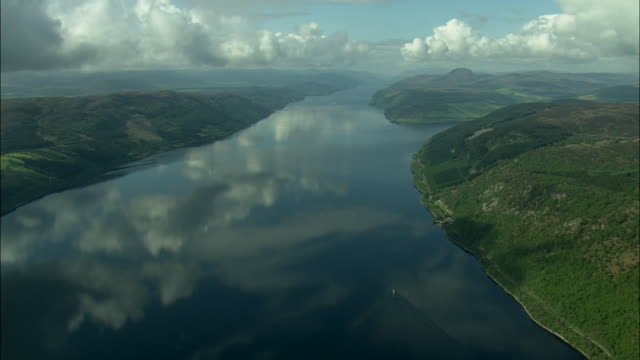 east end of loch ness - scotland stock videos & royalty-free footage