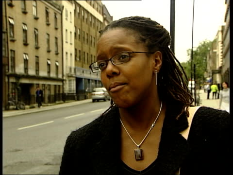east european women rescued from brothel england london ext natalia dawkins interview sot pretty much throughout the uk where there are massage... - bordell stock-videos und b-roll-filmmaterial