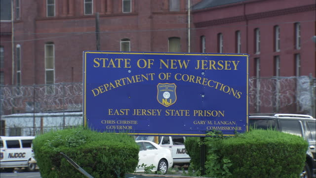 east jersey state prison - new jersey stock videos & royalty-free footage
