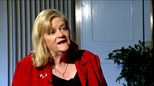 east london funeral director speaks of 'lack of respect' for dead; int ann widdecombe mp interview sot - ann widdecombe stock videos & royalty-free footage