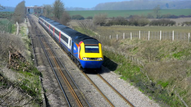 East Midlands HST 125 train on the Midland Mainline.