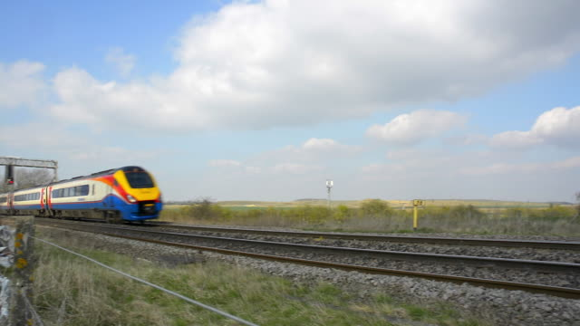 East Midlands Meridian train on the Midland Mainline.