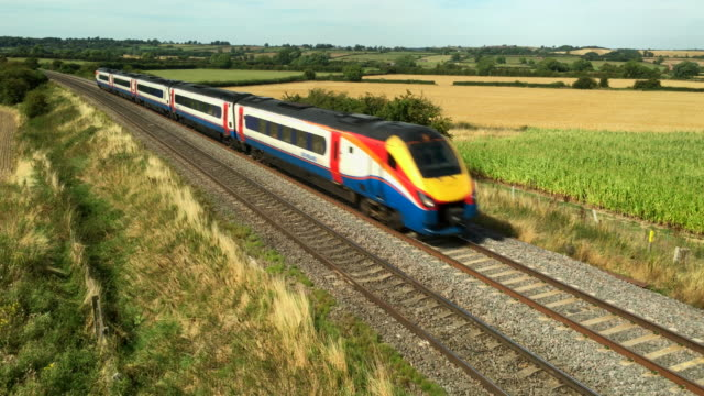 East Midlands Trains on the Midland Mainline.