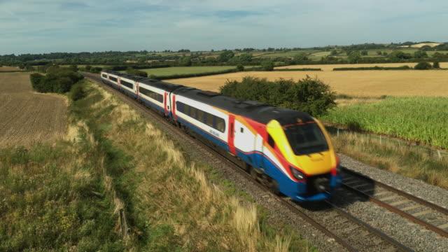 East Midlands Trains on the Midland Mainline.