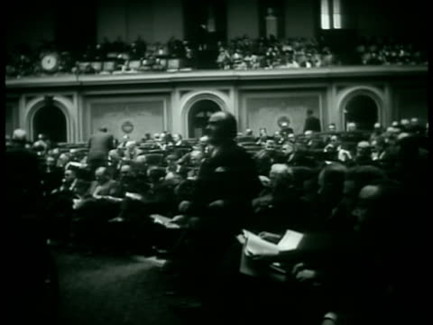 east steps of the capitol building vs house of representatives in session people sitting in balcony area unidentified male standing speaking - joint session of congress stock videos and b-roll footage