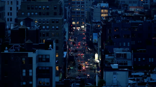 east village city nights - roof stock videos & royalty-free footage