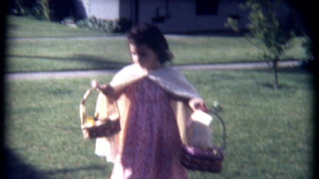 Easter Basket Display 1960's