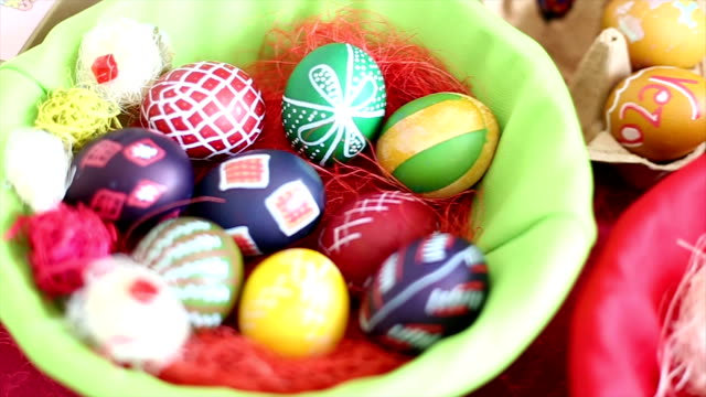 easter eggs - financial item stock videos & royalty-free footage