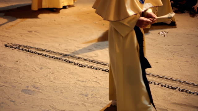 easter in spain - procession - holy week stock videos & royalty-free footage