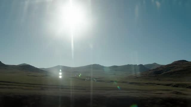 vidéos et rushes de eastern anatolia landscapes from train - turquie