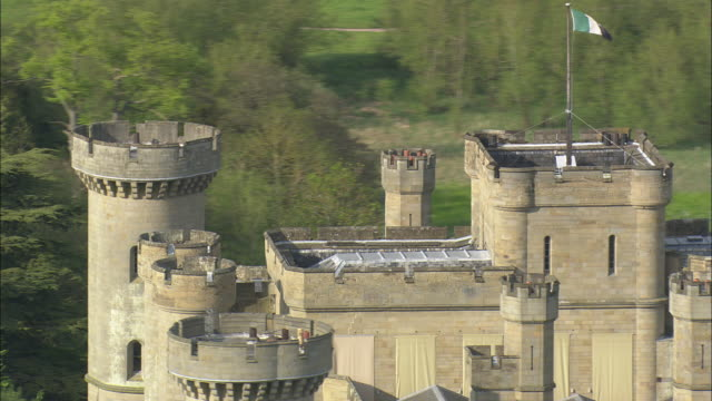 eastnor castle - herefordshire stock videos & royalty-free footage