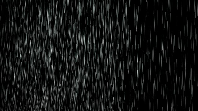 rain isolated over black , easy luma key. - rain stock videos & royalty-free footage