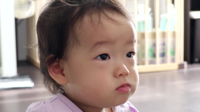 vídeos de stock e filmes b-roll de eat a meal young children - vida de bebé